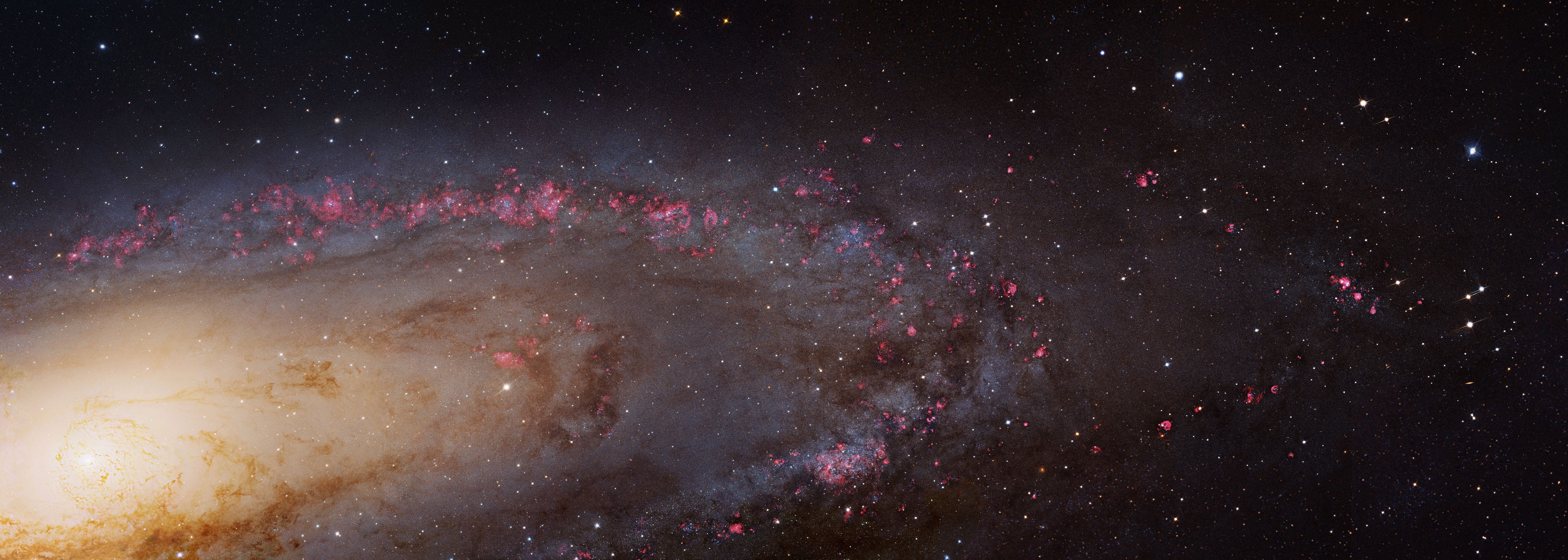 the milky way and andromeda galaxies The milky way isn't so massive after all neighbouring galaxy found to have double the amount of dark matter as our own the milky way is 800 billion more massive than our sun, study claims.