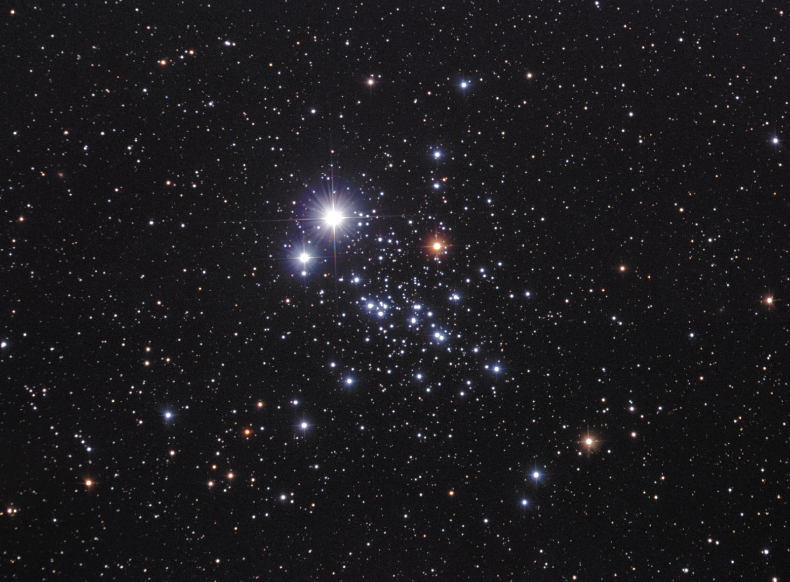NGC 457 The ET Cluster - some light relief